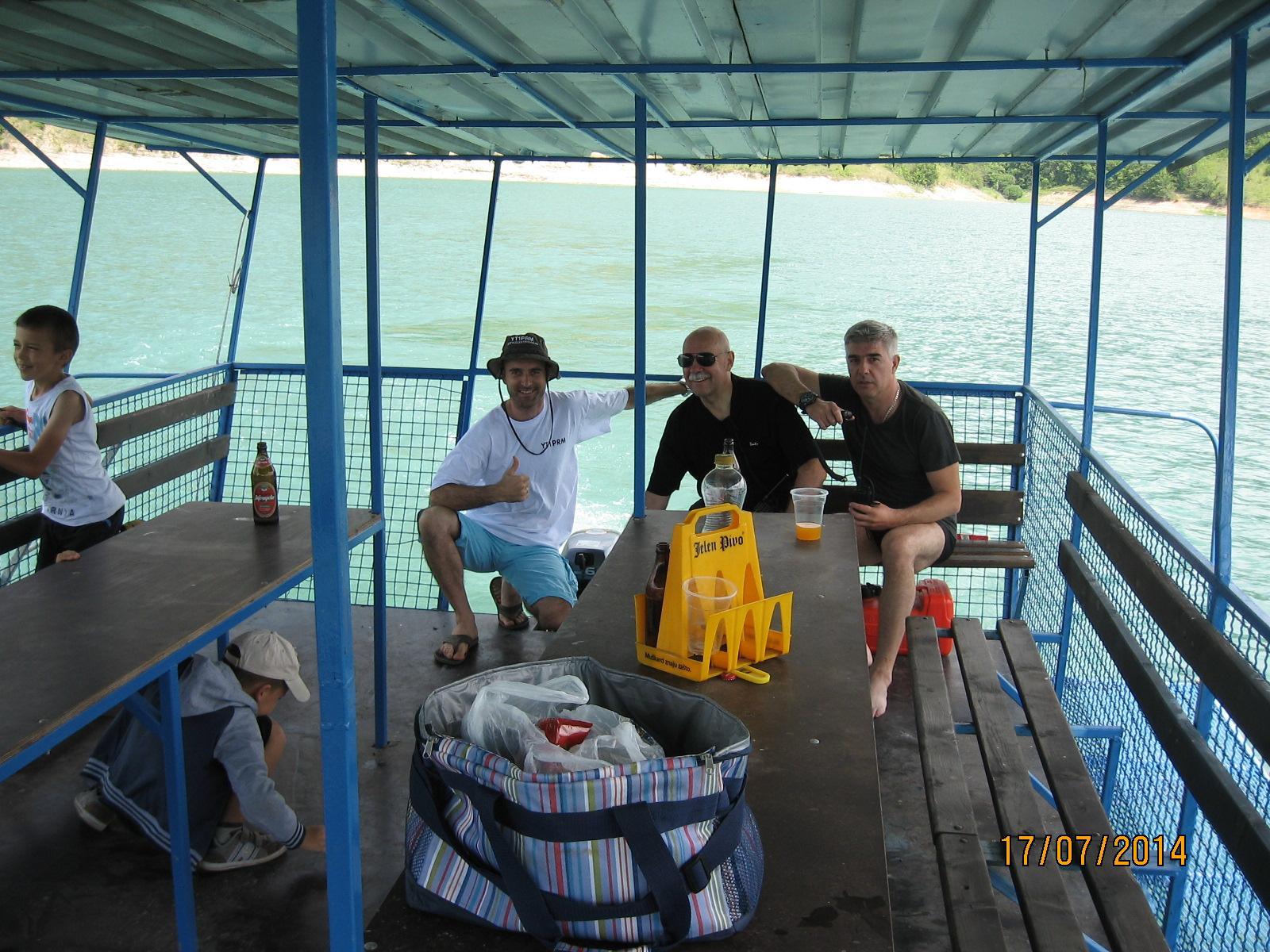 Marine Mobile na Zavojskom jezeru